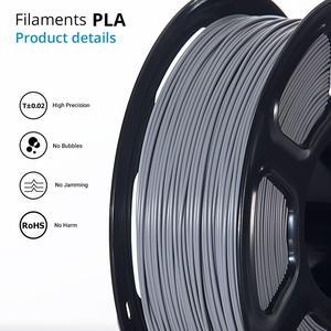 Image 2 - TOPZEAL 3D Printer PLA Filament 1.75mm Filament Dimensional Accuracy +/ 0.02mm 1KG 343M 2.2LBS 3D Printing Material for RepRap