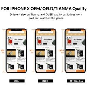 Image 3 - ЖК дисплей для iPhone X S Max XR, Tianma OLED OEM тачскрин с дигитайзером, сменные запчасти в сборе, черный