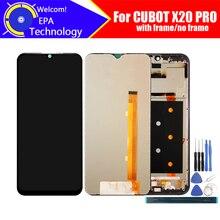 6.3 インチ cubot X20 pro の lcd ディスプレイ + タッチスクリーンデジタイザ + フレームアセンブリ 100% オリジナル液晶 + タッチデジタイザー cubot X20 プロ