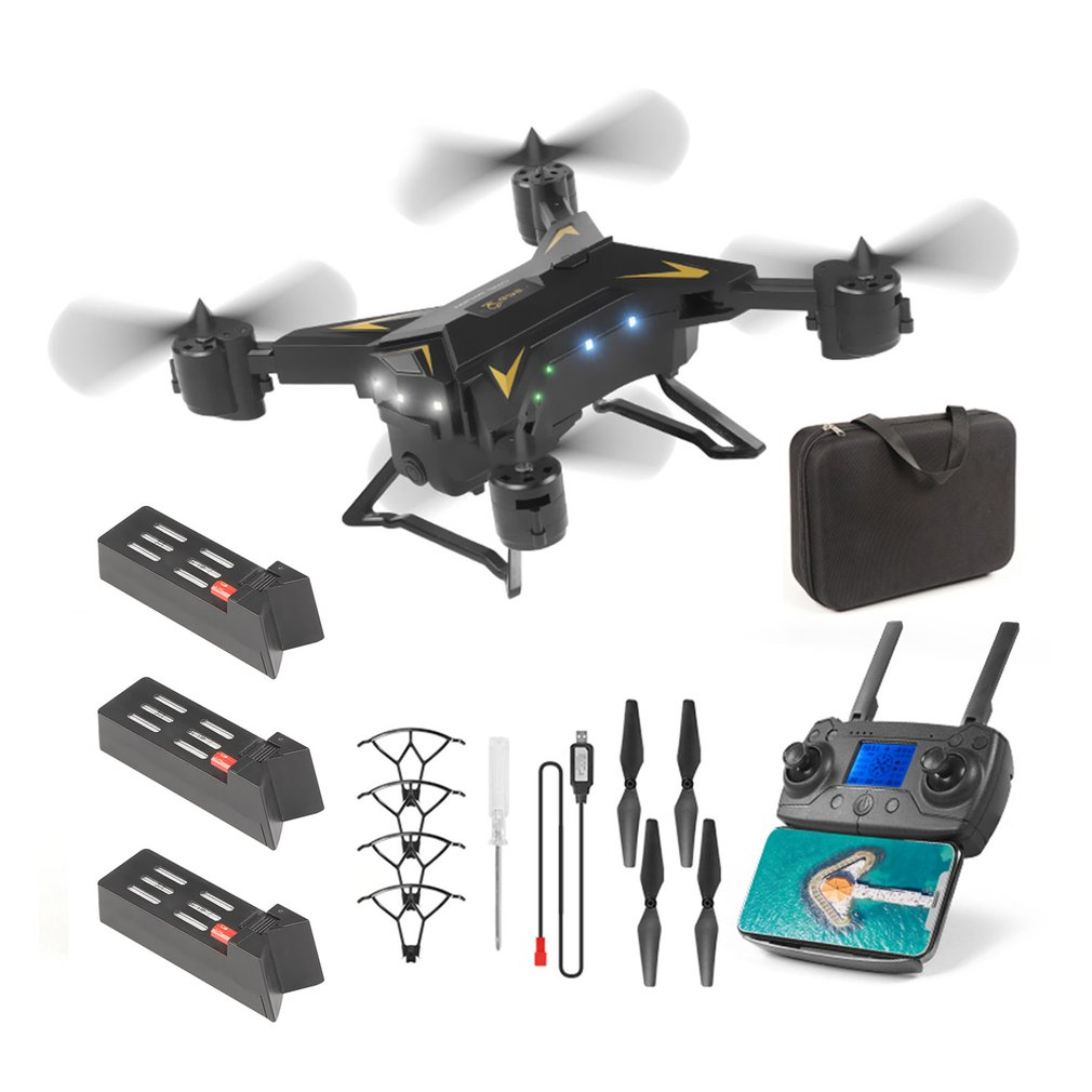 KY601G GPS Drones 4K HD 5G WIFI FPV 2KM RC Quadcopter Foldable Helicopter Drones