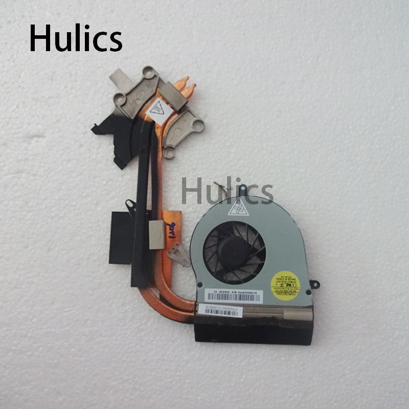 Hulics Original For <font><b>ACER</b></font> laptop heatsink cooling <font><b>fan</b></font> cpu cooler <font><b>7750</b></font> 7750G 7750E CPU heatsink Double copper welding AT0HO0030R0 image