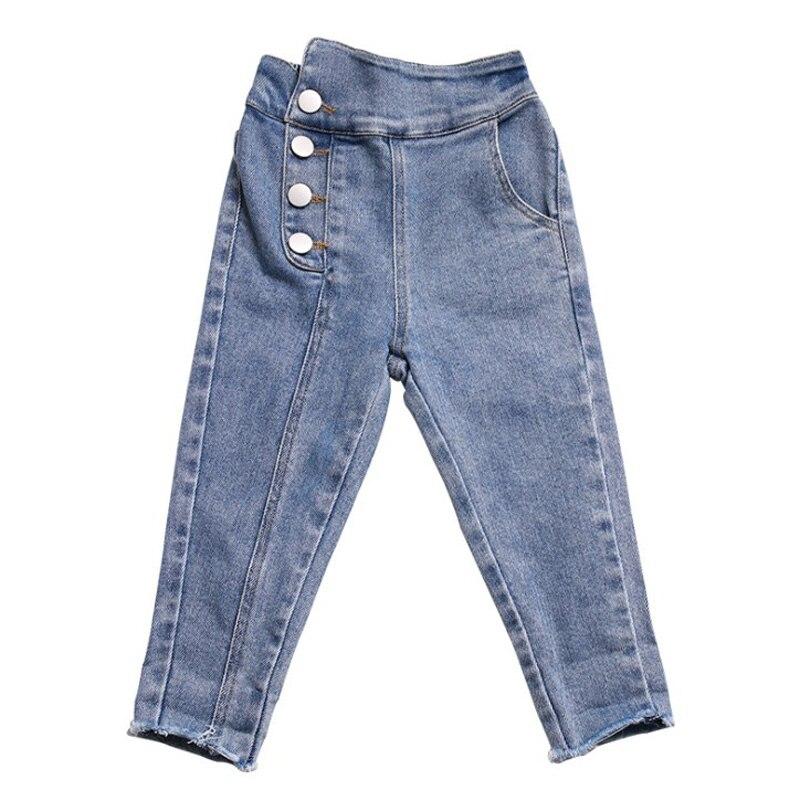 2021 Autumn New Arrival Girls Fashion Denim Pants Kids Jeans Trousers  Kids Jeans Girls 5