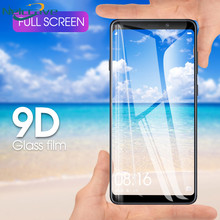 100 Pieces Full Coverage 9D Tempered Glass For Samsung Galaxy A6 2018 A8 Plus A3 A5 A7 2017 2016 A320 A520 A720 A310 A510 A710(China)