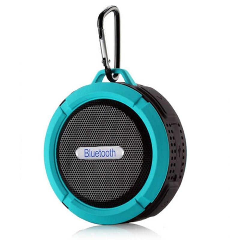 Waterproof Bluetooth Speaker Outdoor Sucker Mini Mobile Car Subwoofer Portable