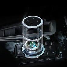 IDrive-cubierta de botones Multimedia para coche, pegatinas con emblema M, para BMW X1, X3, X5, X6, F30, E90, E92, F10, F18, F11, F07, GT, Z4, F15, F16, F25, E60, E61