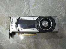 Nvidia versão pública gtx1080ti 11g titan cooler jogo gpu renderização placa gráfica usado original