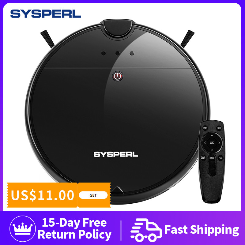 Sysperl Smart Robotic Robot Vacuum Cleaner Robot Household Robots Vacum Cleaners Cleaning Auto Charge With Docking Station