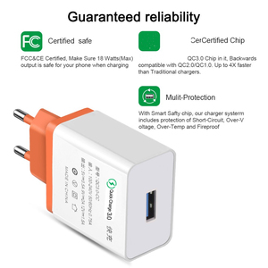 Image 5 - USB Charger Quick Charge 3.0 2.0 Travel Wall Fast Charging Adapter For iPhone XR Samsung S8 Tablet EU Plug Mobile Phone Chargers
