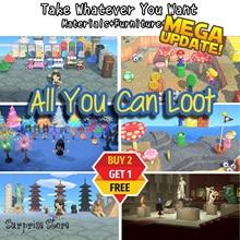 Mineral-Bells Nook Island-Materials Recipes Wood Tickets Horizon-Dream Mile Animal Crossing