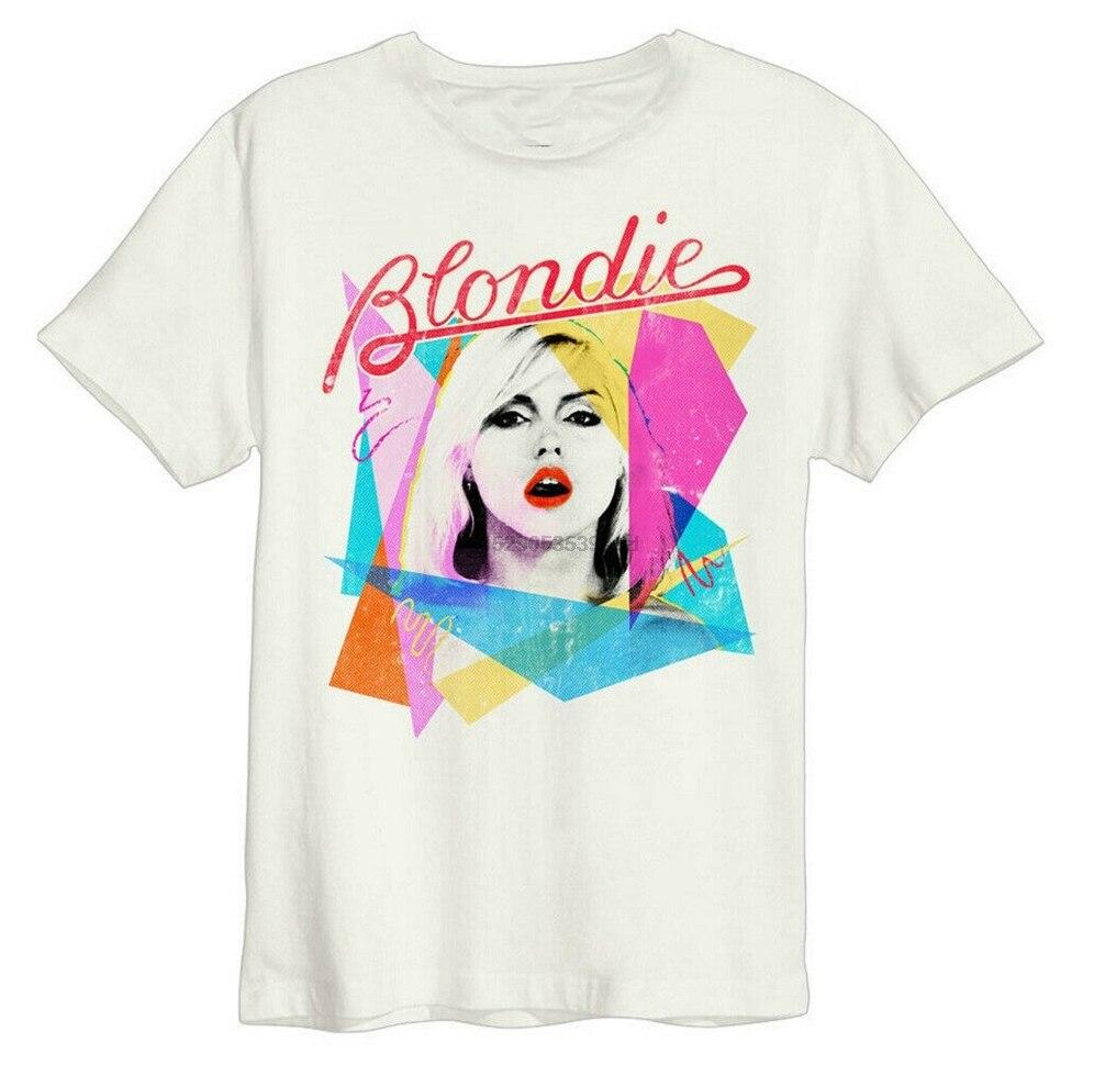 Blondie & #39Ahoy 80 & #39S & #39 (белый) Футболка-усиленная одежда-новая модная крутая футболка