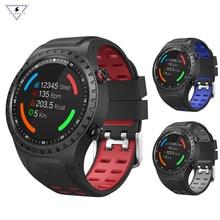 цена на Smarwear M1 Smart Watch Support Sim bluetooth Phone Call Gps Smartwatch Phone Men Women Ip67 Waterproof Heart Rate Monitor Clock