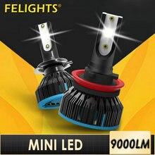 Автомобисветильник Светодиодная лампа h7 s h 4 mini 9005 hb3