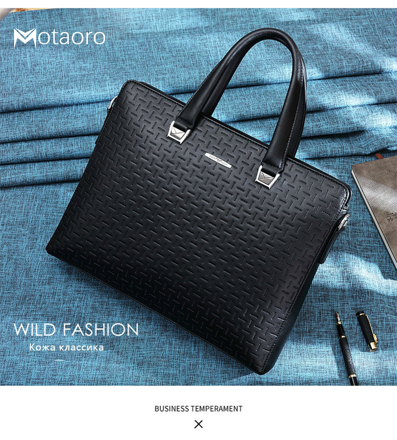 Male 14inch Laptop Bags For Women Men Bag Business Affairs Briefcase Man Leisure Handbag Computer Famous Brand Bolso Hombre Sac