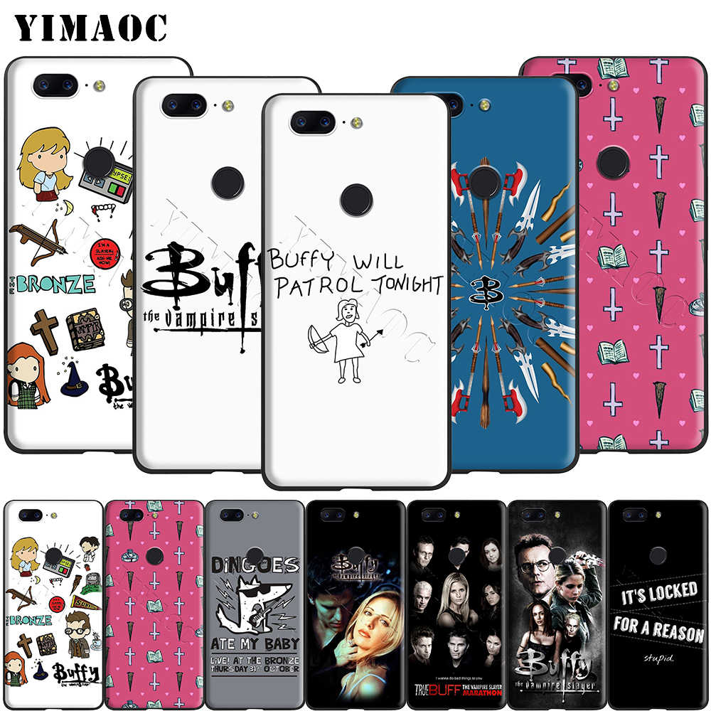 Yimaoc Buffy The Vampire Slayer Del Silicone di Caso per Oneplus 7 Pro 6t 6 5t 5