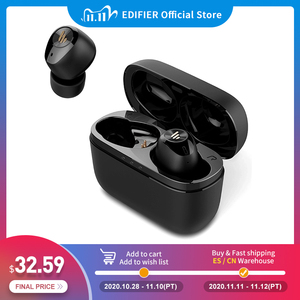 Image 1 - EDIFIER TWS2 TWS Earbuds Bluetooth V5.0 IPX4 up to 12 Hrs Play Time Multifunctional Control wireless earphones