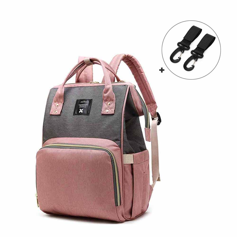 Fashion Mummy Maternity Nappy Bag Brand Large Capacity Baby Bag Travel   Backpack Designer Nursing Bag For Baby Care Women's Bag