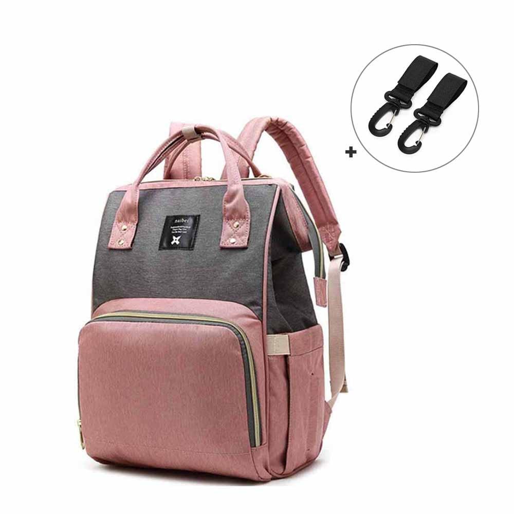Fashion Mummy Maternity Nappy Bag Brand Large Capacity Baby Bag Travel   Backpack Designer Nursing Bag For Baby Care Women's Bag