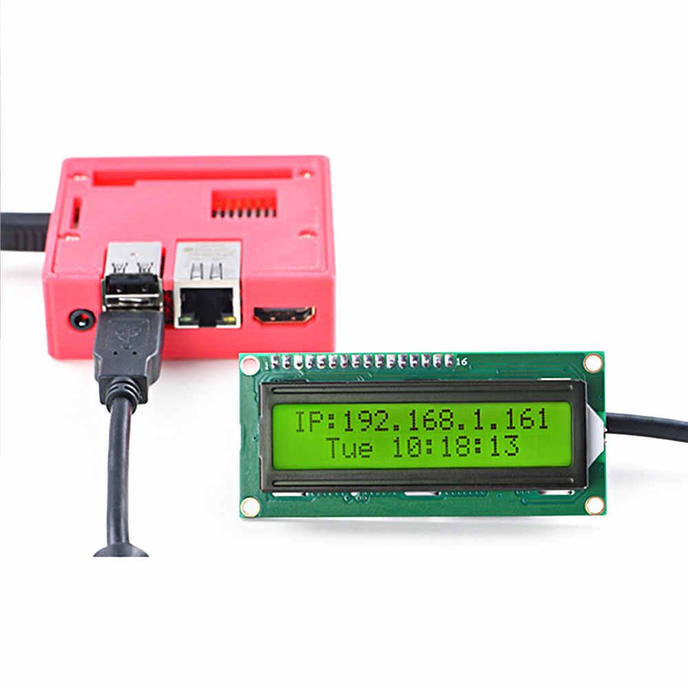 وحدة LCD2USB تدعم NanoPi R2S/LCD4LINUX/LCD Smartie/LCDProc ، التوصيل والتشغيل ، مفتوحة المصدر بالكامل