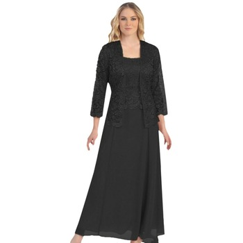 New Long  Sleeve Mother Of the Bride Dresses Long Evening Dress Brautmutterkleider Wedding Party Dresses 2