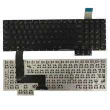 HOA KỲ MỚI Bàn phím laptop Cho Asus G750 G750JH G750JM G750JS G750JW G750JX G750JZ Tiếng Anh bàn phím màu đen