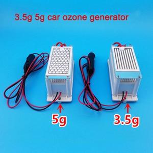 3.5g 5g 12В автомобильный генератор озона длительный срок службы с прикуривателем