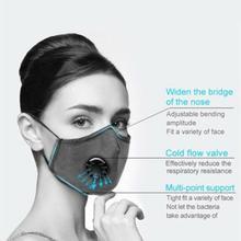 N95 Mask Mascherine Antivirus Respirator Prevent Coronavirus  Antisaliva Antibacterial With PM2.5 Filter Reusable Face Masks