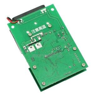Image 3 - 60 واط 30 فولت 0 ~ 9.99A ثابت الحالي الإلكترونية تحميل LCD شاشة ديجيتال تفريغ البطارية قدرة متر تستر مع مروحة بالوعة الحرارة