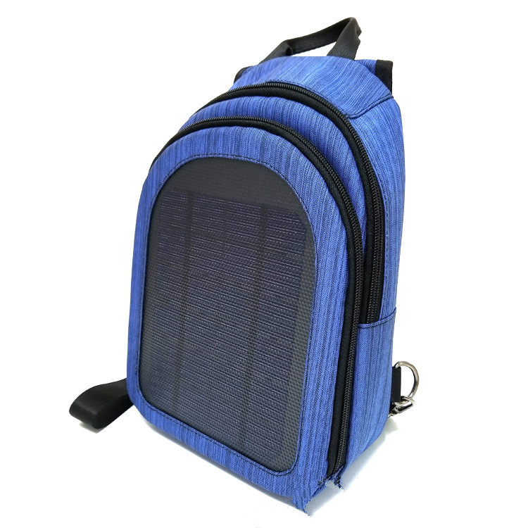 Outdoor First-aid Backpack 5V Emergency Solar Energy Powered Waterproof High Quality Field Exploring Travelling Backpack Bags
