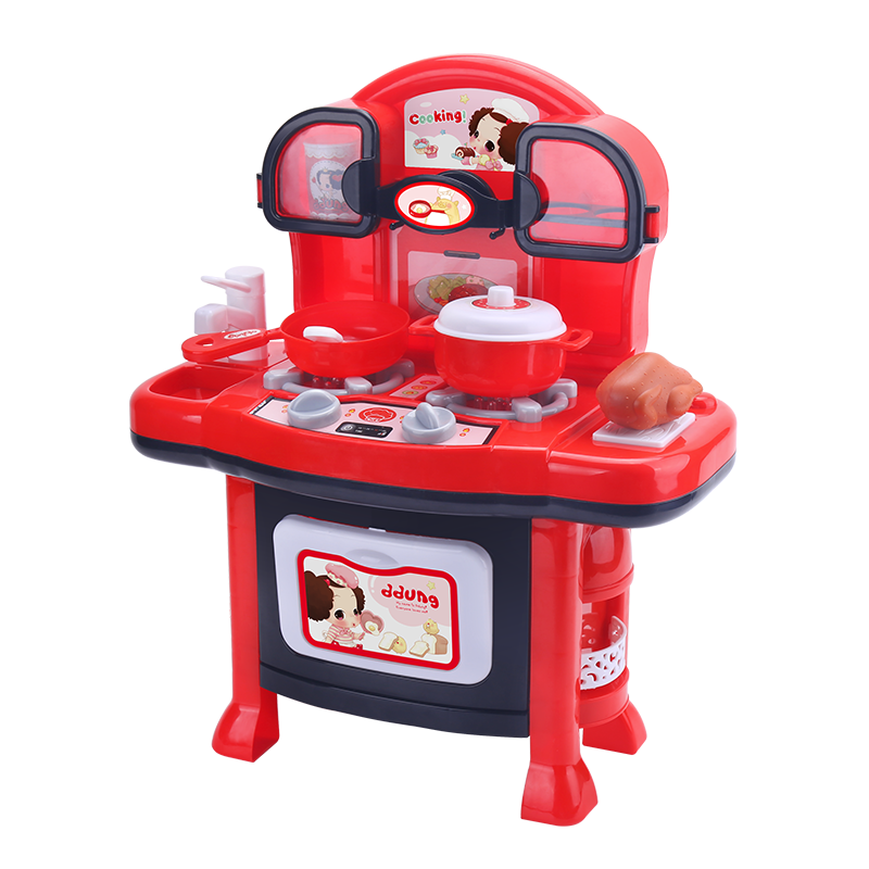 Ddung Baby Pretend Play Toys Kitchen Set Toy 3Y+ Stove Sound & Light Simulation Cooking Toys For Childrens