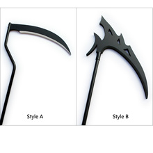 Reaper's Scythe DEATH SCYTHE Dead Scythe Thanatos Cosplay Halloween Costume Props все цены