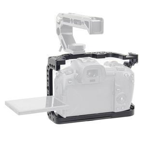 Image 3 - Kamera kafesi Video Film Film Rig sabitleyici Canon EOS R tam çerçeve ILDC kamera + soğuk ayakkabı dağı sihirli kol Video ışığı