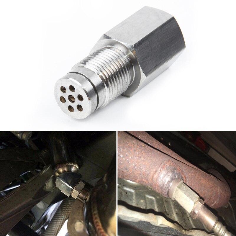 Автомобильный каталитический конвертер очиститель M18 * 1,5 O2 Датчик проверки света двигателя Cel Eliminator Адаптер распорка микро каталитический ...