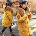 Mode Kinder Unten Jacke Russland Winter Jacke Für Mädchen Dicke Ente Unten Kinder Outer Für Kalt-30 grad Parka warme Mantel