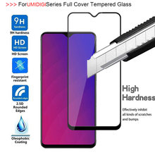 5D Full Cover Tempered Glass For UMIDIGI F1 A5 Pro One max Power Screen Protector For F1 Play S3 PRO All Glue Protective Film(China)