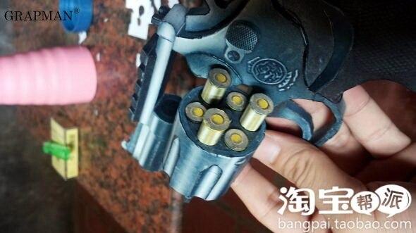 1:1 M66 Revolver Paper Model Manual DIY 5