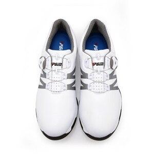 Image 3 - 2020 chaussures de Golf hommes boutons rotatifs boucle Golf baskets respirant Golf chaussures imperméable sport baskets hommes entraînement baskets