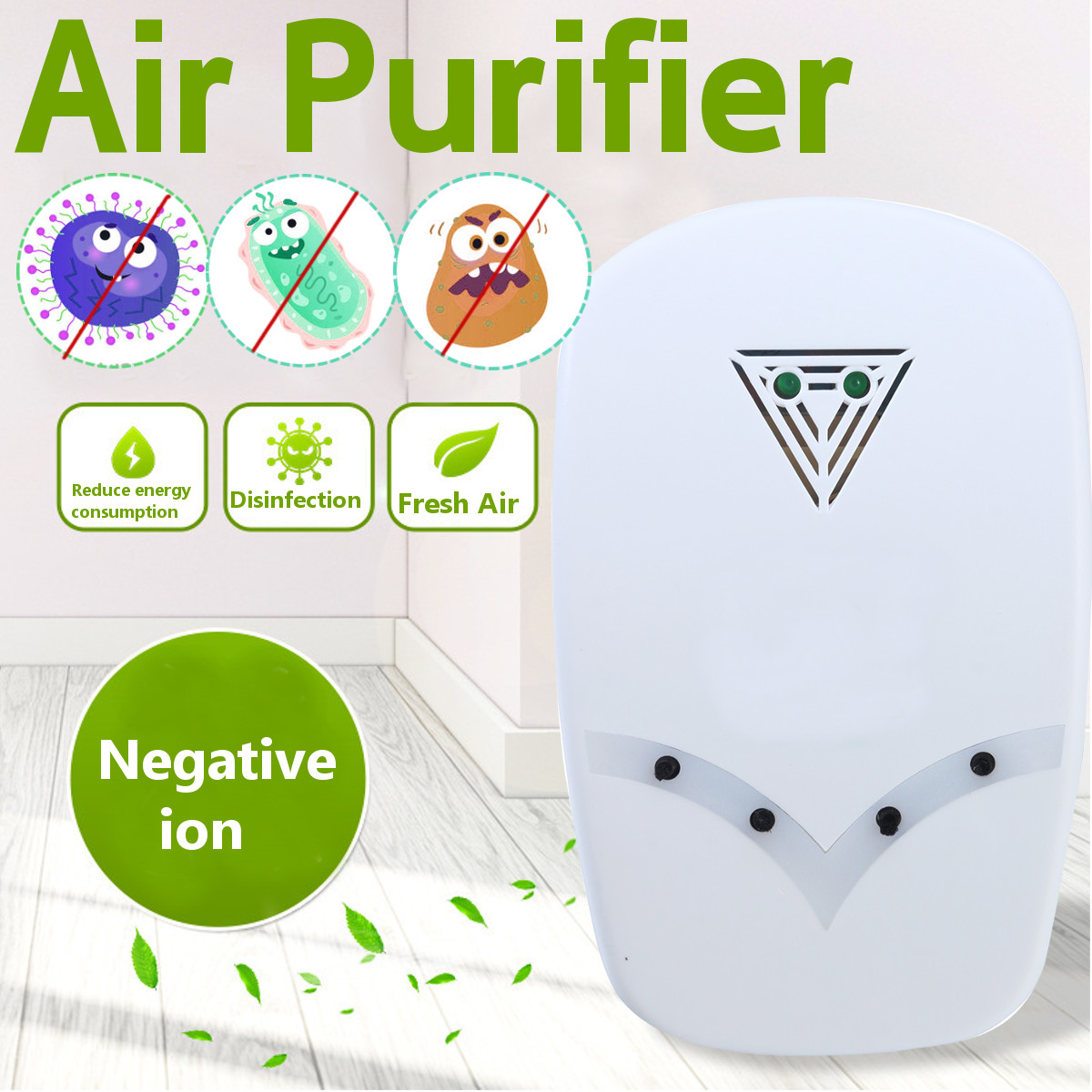 Ozone Generator 220V Anion Sterilizer Air Purifier Home Deodorizer Purification Smoke Formaldehyde Odor Filter Disinfect