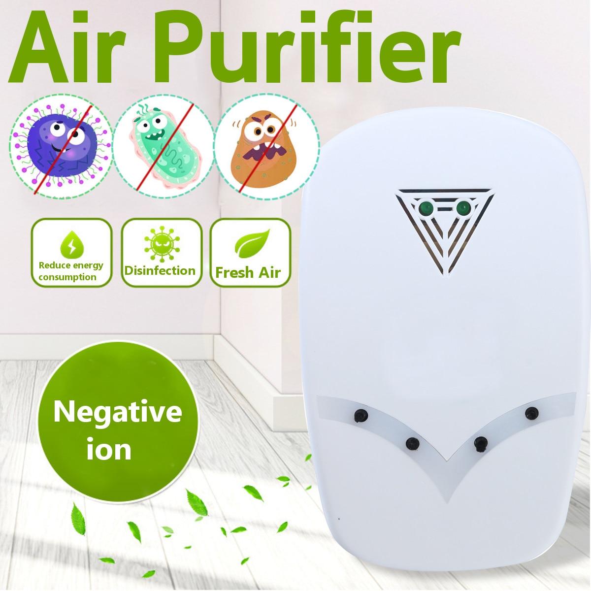 Ozone Generator 220V Anion Sterilizer Air Purifier Home Deodorizer Purification Smoke Formaldehyde Odor Filter Disinfect