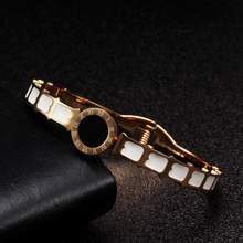 Роскошные сетчатые браслеты из нержавеющей стали Женские Ювелирные