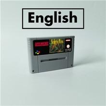 Secret de mana rpg carte de jeu EUR Version anglais batterie économiser