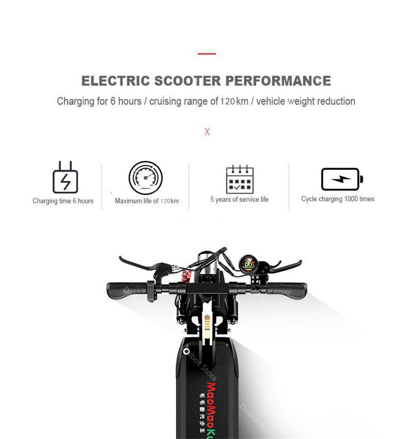 1200W 60V Electric Scooters Adults Two Wheels Electric Scooters High Speed 60KMH Folding Powerful Electric Bike With Seat (6)