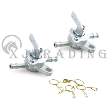 Auto-Key-Ring Petrol-Valve Scooter Fuel-Tap Motorcycle Mini On-Off Gas 6mm 2pcs High-Quality