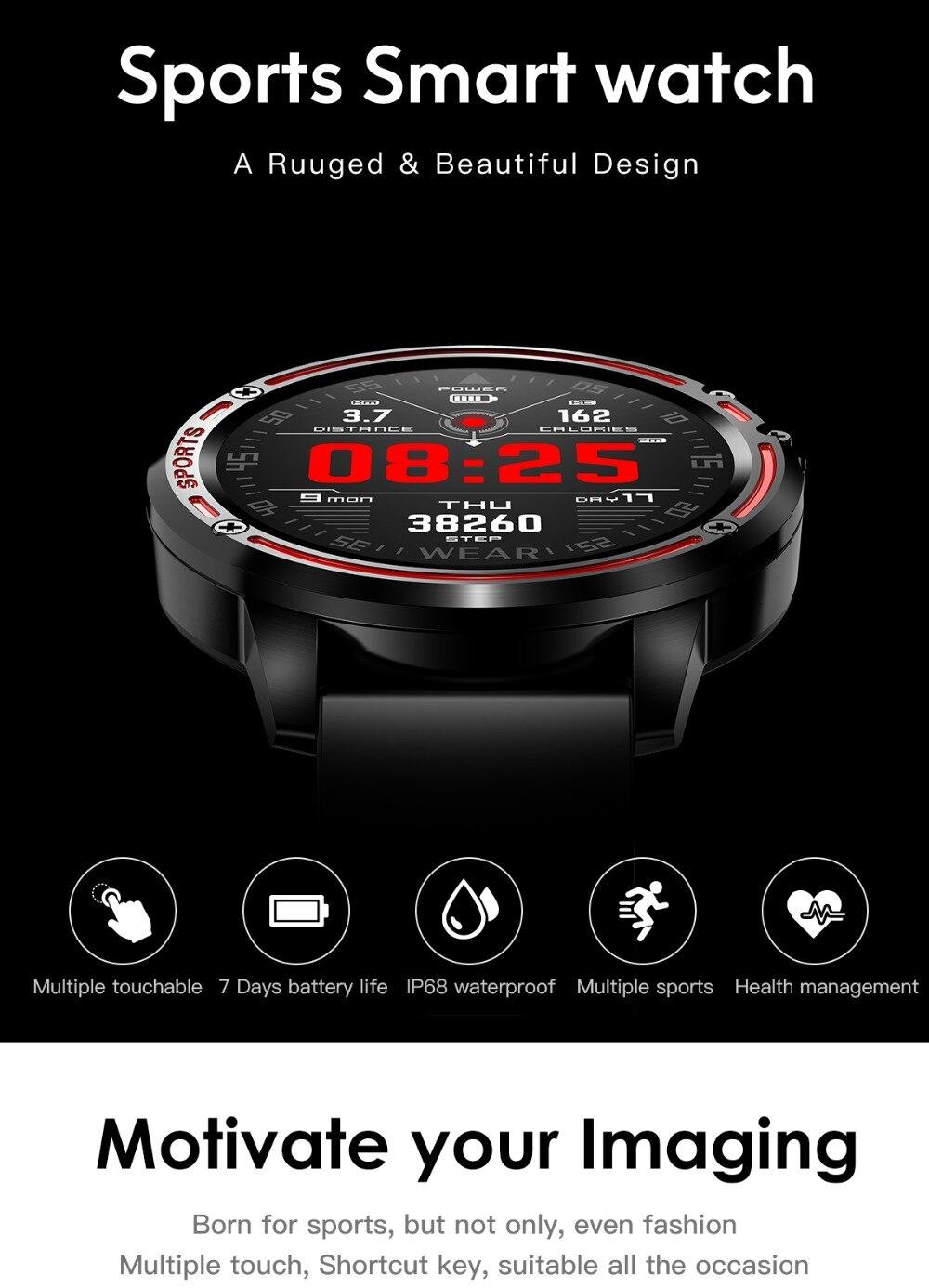 Ecg + ppg relógio digital do esporte