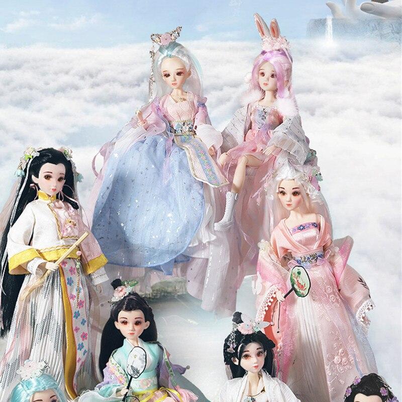 Forturn days East charme comme BJD Blyth poupées 1/6 jupe huit saisons belle fée lapin haute qualité collection cadeau jouets