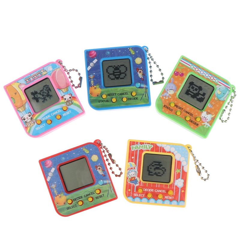 New 90S Nostalgic 168 Pets Virtual Cyber Pet Toy Tamagotchi Electronic Pets Toys