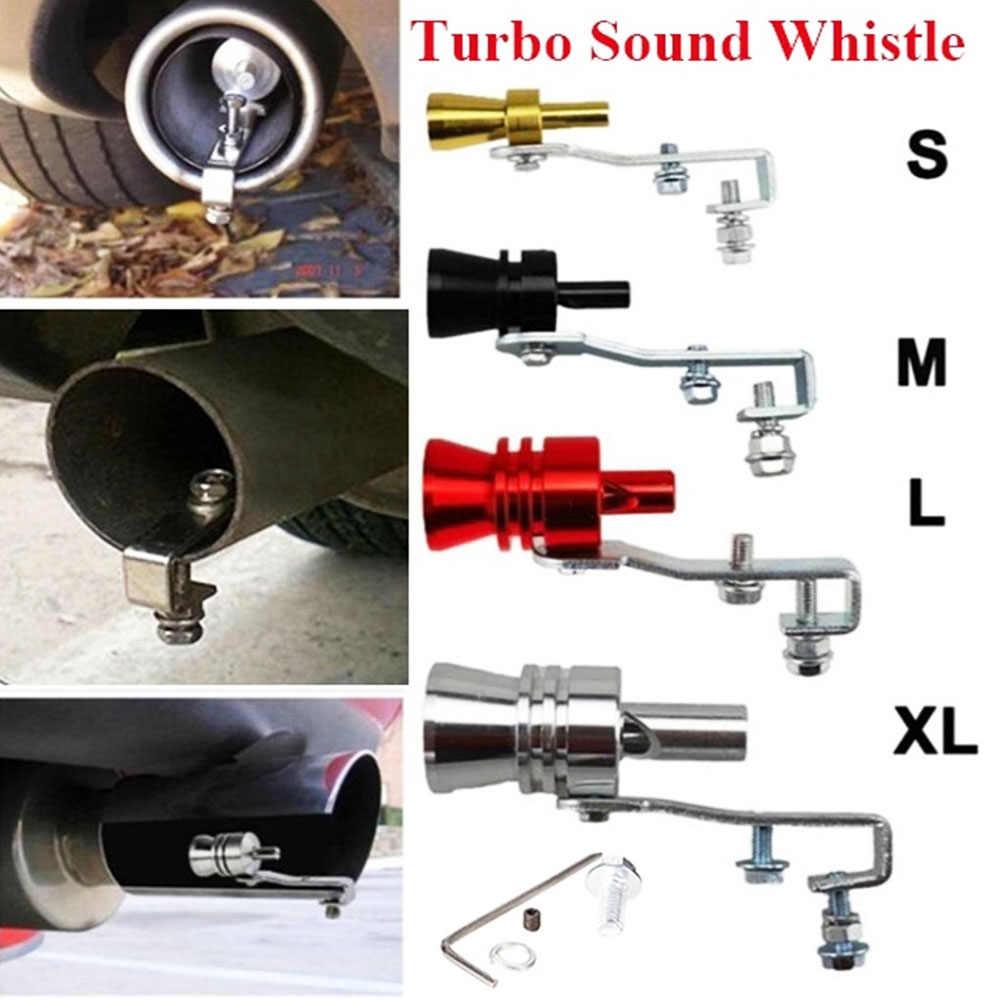 Pennytupu Tubo in Alluminio Universale per Auto BOV Turbo Fischio Suono Tubo simulatore Suono Tubo marmitta marmitta