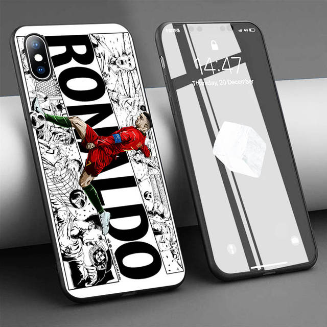 Coque CR7 Cristiano Ronaldo Case for iPhone 11 Pro Max XR XS 5s 6 6S 7 8 Plus Case Soft TPU Silicone Phone Cover For Huawei P20