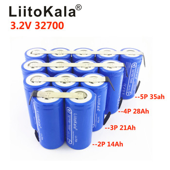 LiitoKala 3.2V 70Ah battery pack 10 parallel LiFePO4 phosphate Large capacity Motorcycle Electric Car motor batteries image