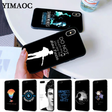 Hit pop singer Shawn Mendes Magcon Pattern Silicone Case for iPhone 5 5S 6 6S Plus 7 8 11 Pro X XS Max XR