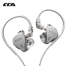 2020 CCA CS16 16BA Drive Units In Ear Earphone Hifi Dj Monitor Running Sports Earphone Earbuds For C10 CA4 C12 CA16 C10PRO CX4